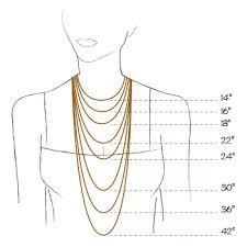 Necklace Chart Rosalina Necklace