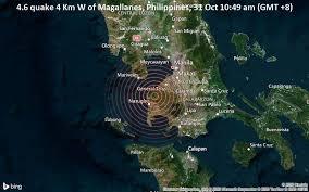 Coconuts manila via yahoo news· 1 year ago. Magnitude 4 6 Earthquake Strikes Near Quezon City Philippines Volcanodiscovery