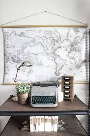 Small Picture Best 25 Vintage map decor ideas on Pinterest Maps Map art and