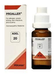 Adel 20 Proaller Drops for Allergies, Itching, Skin infections ...