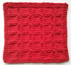 Free Knitting Patterns For Dishcloths Custom Free Free Twist Stitch Dishcloth Knitting Patterns Patterns