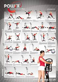 Body Fitness Chart Advanced Whole Body Vibration Training Chart With New Training Recommendation Insert