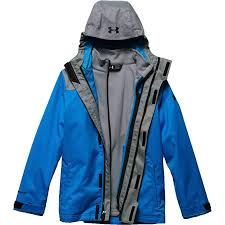 Under Armour Kids Mens Ua Coldgear Infrared Wildwood 3 In 1 Jacket Big Kids
