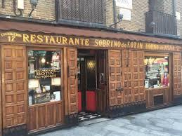 Restuarant Botin: Restaurant Facade