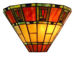 fireglo art deco style tiffany wall lamp on tiffany wall lights art deco style with fireglo art deco style tiffany wall lamp fireglo wb