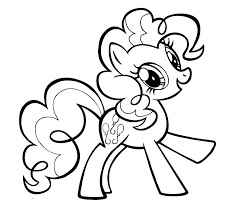 little pony coloring pages my baby pinkie pie applejack