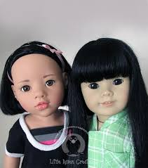 Round ball asian looking dolls