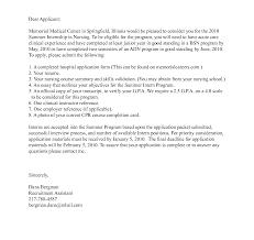 Cover Letter Nursing Resume Samples Free Examples For Nurses