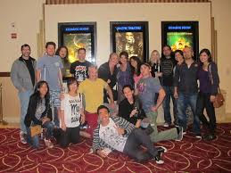 "family guy"" goes to see ""the dark knight rises"" a photo essay  the crew"