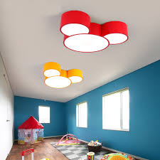 childrens bedroom lighting. LED Mickey Mouse Children\u0027s Bedroom Lamp Kindergarten Color Study Room  Ceiling Lights Amusement Park Cartoon Childrens Lighting AliExpress.com
