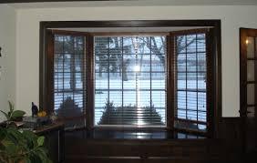 Wood Window Treatments Ideas Bay Window Blinds Ideas Time To Throw Away Your Bay Window