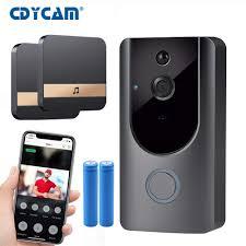 HD 720P <b>WIFI Visual Doorbell</b> Wireless Intercom <b>Doorbell Camera</b> ...