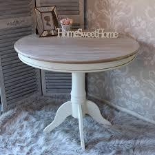 grey wood round dining table avianfarms interior design 9