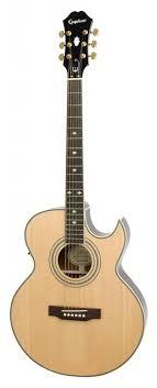 <b>Epiphone PR</b>-<b>5E</b> Natural Gold HDWE <b>электроакустическая гитара</b> ...