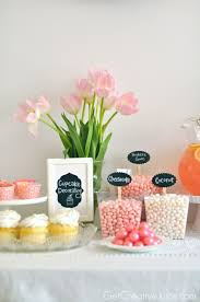 Girly Pink Cupcake Decorating Party Creative Juice
