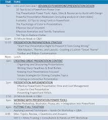 powerpoint design presentation designers in dc va md 1 day ppt training agenda sample