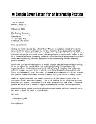 Cover Letter Sample Computer Science 7 Cover Letter Examples Over 1 For Position Example