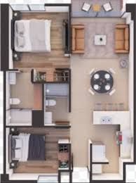floor plans for houses. Dream House Plans, Small Hacks, Layouts, Apartment Floor Smallest House, Houses, Design, Plans Appartement For Houses