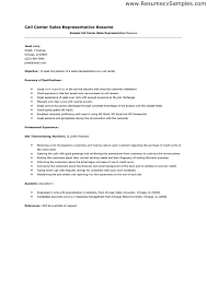 Call Center Representative Resume From Home Sales. professional ...