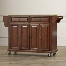 Kitchen Cart With Doors Kitchen Wallace Kitchen Cart With Counter Stainless Steel Top