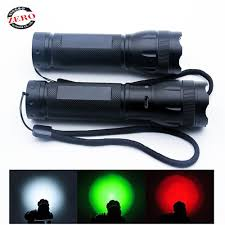 Hog Light Hot Item Multifunctional 3xaaa 18650 Zoomable Green Red White Hunting Light For Hog Predator Coyotes