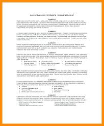 Summary Examples For Resumes Marketing Resume Example Resume ...