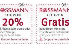 Rossmann gutscheine 10