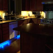 under cabinet kitchen lighting led. led strip lights under cabinet modern kitchen lighting ideas with rgb flexible light strips line cabinets l shape wall mounted