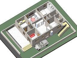khan residence 40x60 east facing site vastu plan e2
