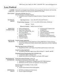 Computer Engineer Resume Objective Computer Engineering Resume