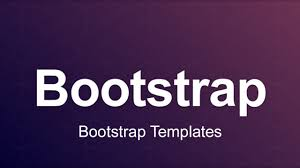 3 Templates Bootstrap 3 Tutorial 98 Bootstrap Templates