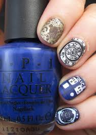 Doctor Who Nail Art: Time For Twelve! - Adventures In Acetone