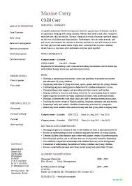 Daycare Worker Resume Cool Resume Child Care Assistant And Daycare Template Netdevilzco