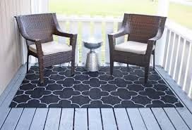 outdoor rug on the an easy diy project horchow outdoor rugs