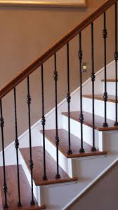 A full stair remodel at the Stella Journey home. Visit the website for more,