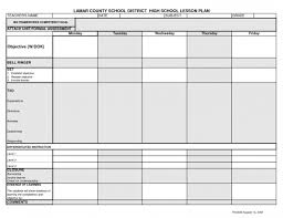 weekly syllabus template 8 lesson plan formats bookletemplate org weekly template word