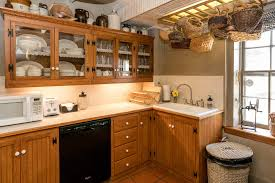 European Cabinets Palo Alto Waterfront Cottage Texas Hill Country