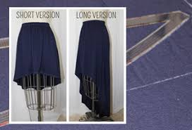 High Low Skirt Pattern Amazing DIY HighLow Skirt WeAllSew