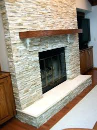 attractive stone fireplace with wood mantel wooden shelf for install mantle on brick storage surround burning stove trim box wall and tv
