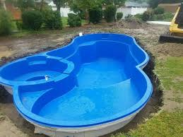 Fiberglass Swimming Pool Designs Unique Decorating Design
