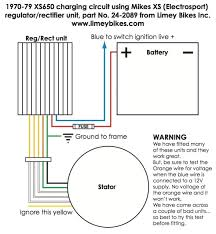needed wire diagram for mikes xs solid state rectifier regulator 70 79 charging limeybikes jpg