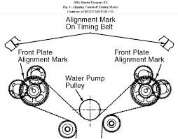 95 Accord V6 Water Pump Diagram