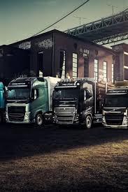 volvo trucks bridge sunset 640x960