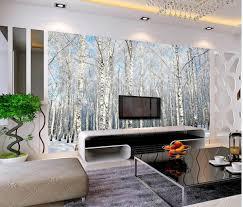 Us 1836 49 Offbenutzerdefinierte 3d Fototapete Winter Schnee Landschaft Bäume Wohnzimmer Tv Hintergrund Schlafzimmer 3d Fototapete In