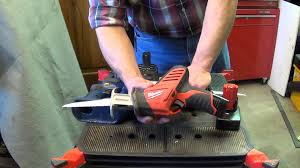 milwaukee tools sawzall. milwaukee tool m12 hackzall 2420-1 review and comparison to ryobi 18v saw - youtube tools sawzall