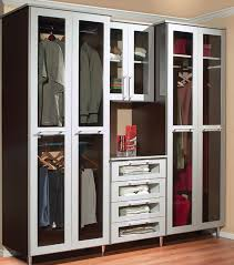 clear glass doors for closet