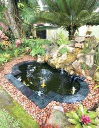 Garden Ponds Designs Adorable Small Garden Pond Ideas Defiss