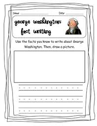 best america presidents images kindergarten george washington fact essay writing ccss aligned
