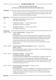 sample journalist resume a template cv for journalists tips for