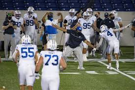 A total of nine college football games are scheduled to take place during college football's opening weekend, though scheduled start date: Byu Football Cougars Just Added Louisiana Tech To Their Reconstructed 2020 Football Schedule Here Are Some Opponents They Could Still Play This Season Deseret News